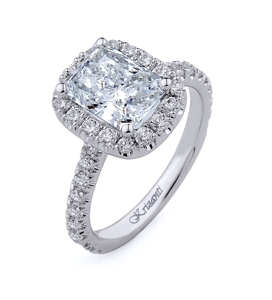 18KTW ENGAGEMENT RING 0.81CT