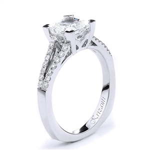 18KTW ENGAGEMENT RING 0.24CT