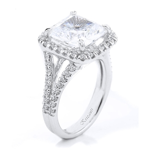 18KTW ENGAGEMENT RING 0.70CT