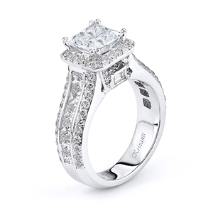 18KTW ENGAGEMENT RING, DIAMOND 2.16CT