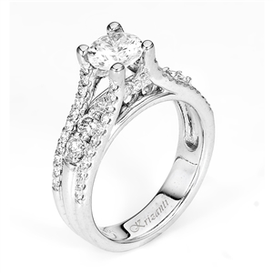 18KTW ENGAGEMENT RING, DIAMOND 0.94CT