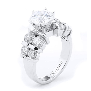 18KTW ENGAGEMENT RING 1.54CT