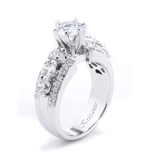 18KTW ENGAGEMENT RING 1.31CT