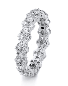 18KTW ETERNITY BAND DIAMOND 2.71CT