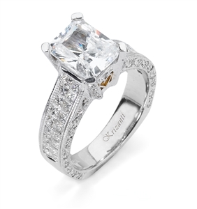 18KTW INVISIBLE SET ENGAGEMENT RING 1.48CT