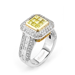 18KTW FASHION RING, DIAMOND 2.23CT