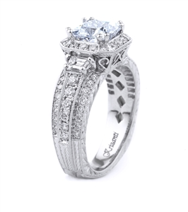 KRIZANTI 18K WHITE ENGAGEMENT 1.70ct
