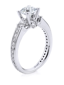 18KT.W ENGAGMENT RING 0.72CT