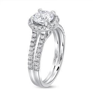 KRIZANTI 18K WHITE ENGAGEMENT 0.30ct