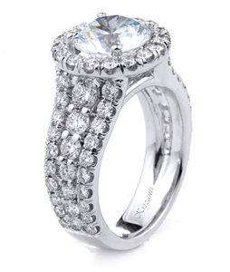 18KT.W ENGAGEMENT RING DIAM-1.98CT