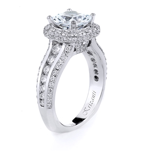 18KTW ENGAGEMENT RING, DIAMOND 1.25CT