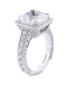 18KTW ENGAGEMENT DIAM-3.70CT