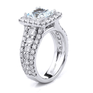 18KT.W ENGAGEMENT RING DIAM-1.94CT