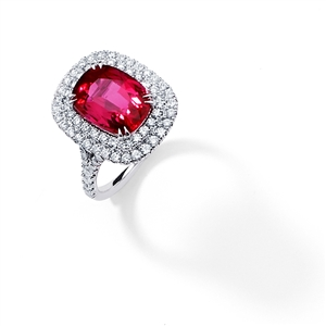 18KT.W FASHION RING 1.00CT