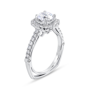 KRIZANTI 18K.WHITE ENGAGEMENT 0.57ct