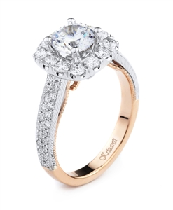 KRIZANTI 18K T.TONE ENGAGEMENT 0.89ct