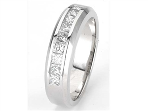 18KTW BAND, DIAMOND 0.94CT