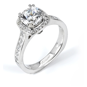 18KTW ENGAGEMENT RING 0.79CT