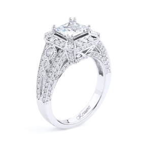 KRIZANTI 18K.WHITE ENGAGEMENT 1.30ct