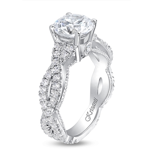 KRIZANTI 18K WHITE ENGAGEMENT 0.67ct