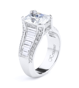 KRIZANTI 18K.WHITE ENGAGEMENT 1.78ct
