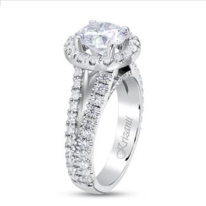 KRIZANTI 18K WHITE ENGAGEMENT 0.87ct