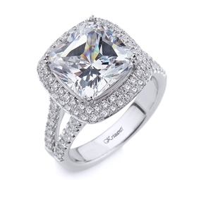 18KT WHITE ENGAGEMENT