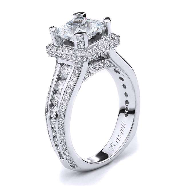 18KTW ENGAGEMENT RING 1.58CT