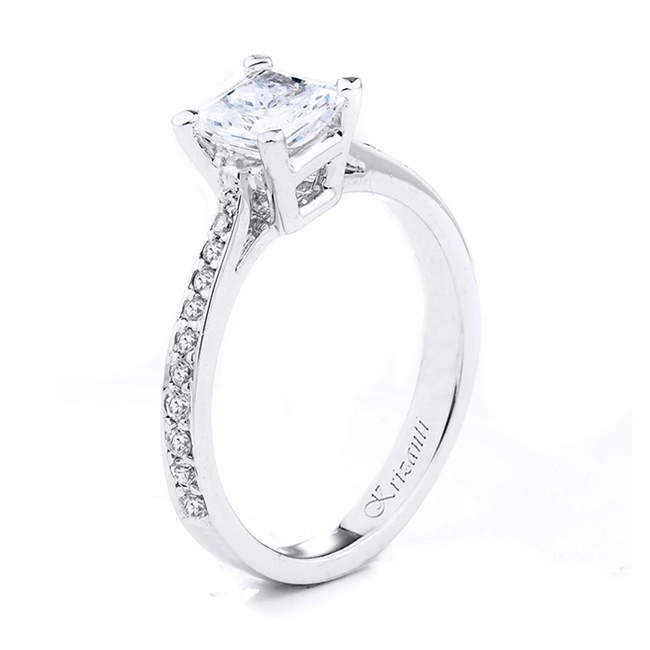 18KTW ENGAGEMENT RING 0.20CT