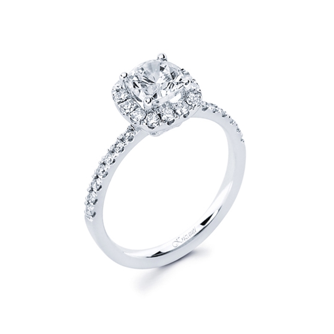 18KTW ENGAGEMENT RING 0.41CT