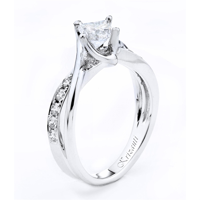 18KTW ENGAGEMENT RING 0.32CT