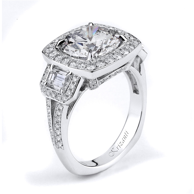 18KTW ENGAGEMENT RING 1.26CT