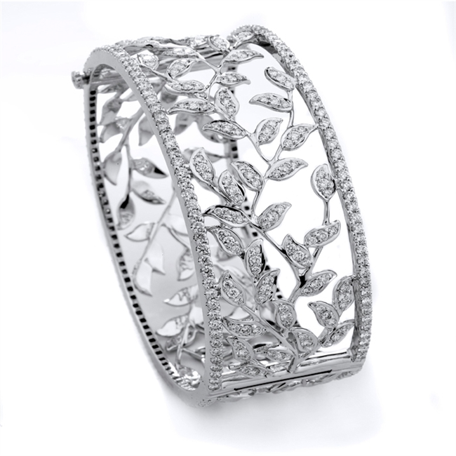 18KTW BANGLE DIAMOND 2.50CT