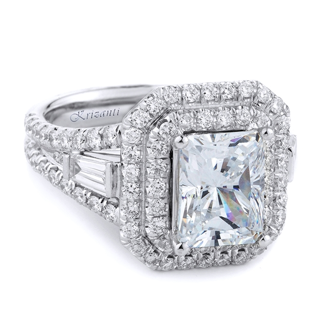 18KTW ENGAGEMENT RING 1.55CT